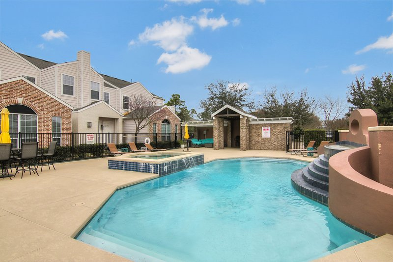 Small gated community with resort style pool and green trails!