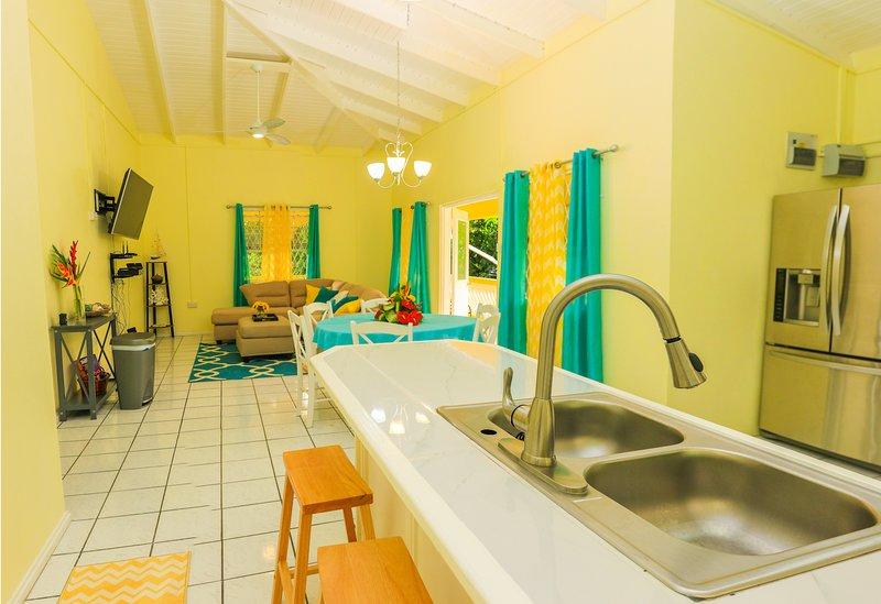 Vance Villa, aluguéis de temporada em Soufriere