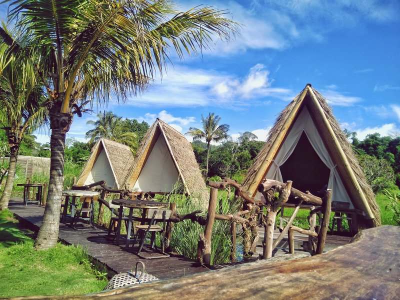 Rustic Teepee Njung Bali Camp, holiday rental in Bangli