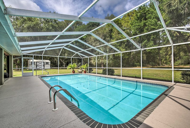 'Pointe of View' Dunnellon House w/ Private Pool! – semesterbostad i Dunnellon