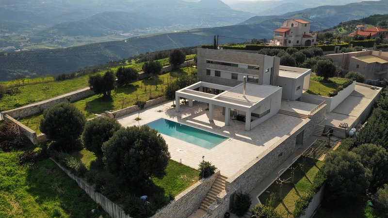 Diktamon Luxury Villa, location de vacances à Tylissos