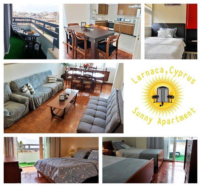 Sunny Apartment Larnaca, holiday rental in Larnaca