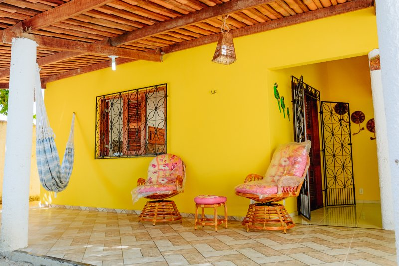 Casa Amarela, holiday rental in Fortim