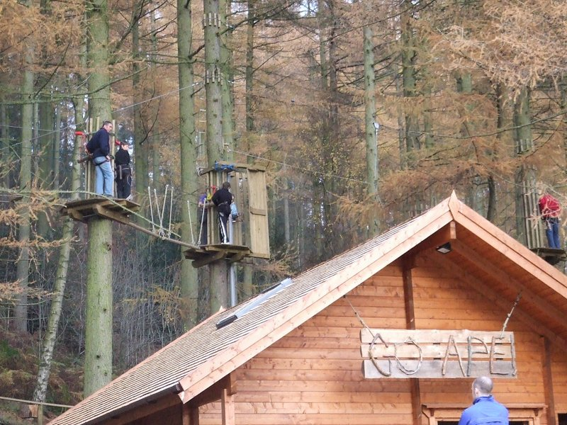Dalby Forest is close to Ashfield Cottages, with its play park , bike trails and Go- Ape
