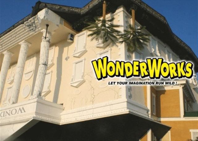 Free adult ticket to Wonder Works with our xplorie package.