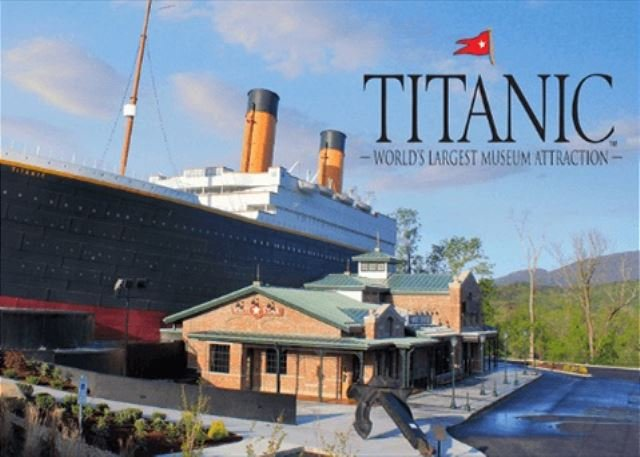 Free adult ticket to the Titanic with our xplorie package.