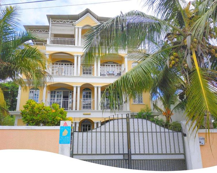 Appartement tout équipé très proche des plages Mt-choisy et Trou aux biches., alquiler vacacional en Mont Choisy