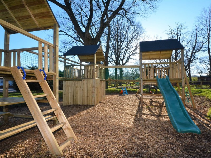 Let the children enjoy the play area which is located next door