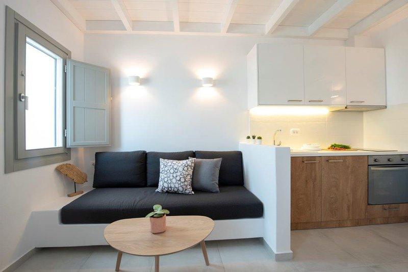 Luxury Suite with Sunrise and Aegean Sea View - 3, location de vacances à Vothonas
