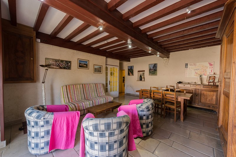 Beautiful house with garden & Wifi, holiday rental in Seurre