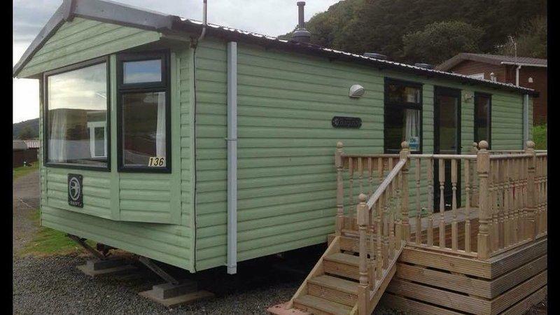 Caravan 136, vacation rental in Aberystwyth