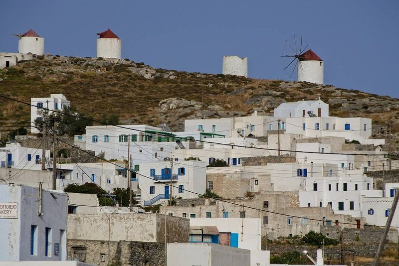 Amorgos Chora stone made house for 5, holiday rental in Donousa Town