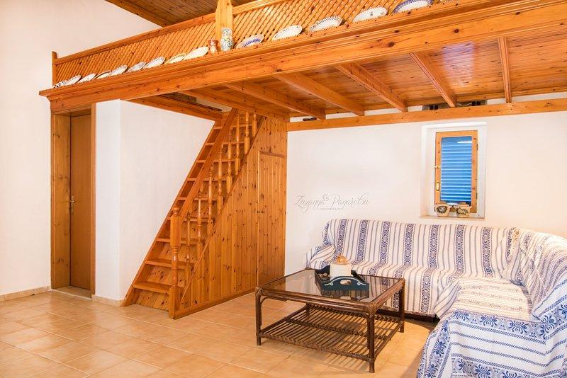 Damatria Family Cottage, holiday rental in Kira Panagia