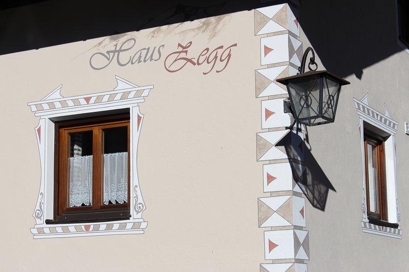 Ferienwohnung mit Bergblick im Haus Zegg – semesterbostad i San Valentino alla Muta