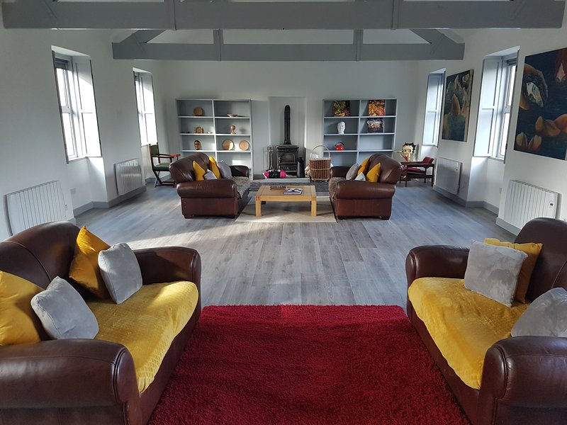 The Lounge at the Lodge, Plenty of Space to be apart together
