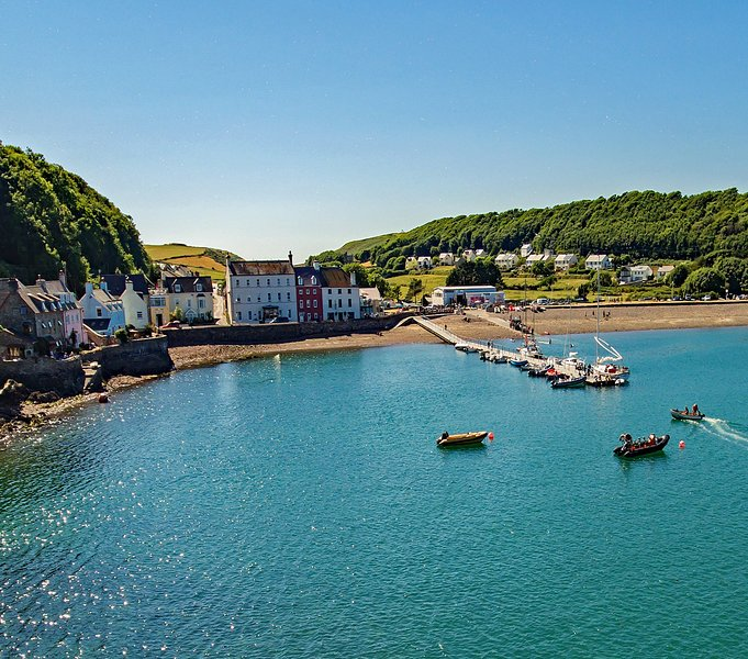 Sanderling Holiday Let Self Catering, Dale Pembrokeshire Coastal Path By The Sea, aluguéis de temporada em St Ishmaels