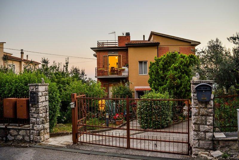 Villetta dell'Ortino a Massa Marittima nel cuore della Maremma Toscana, casa vacanza a Massa Marittima