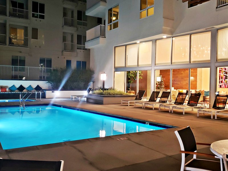 pool apartment rental