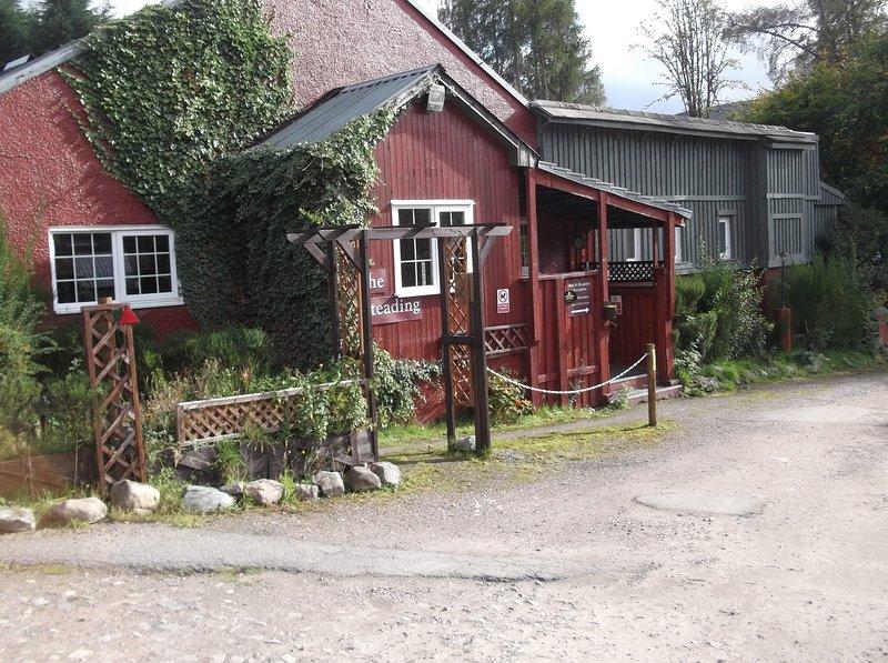 The Steading Highland Glen Lodge Glenurquhart Drumnadrochit, Ferienwohnung in Cannich