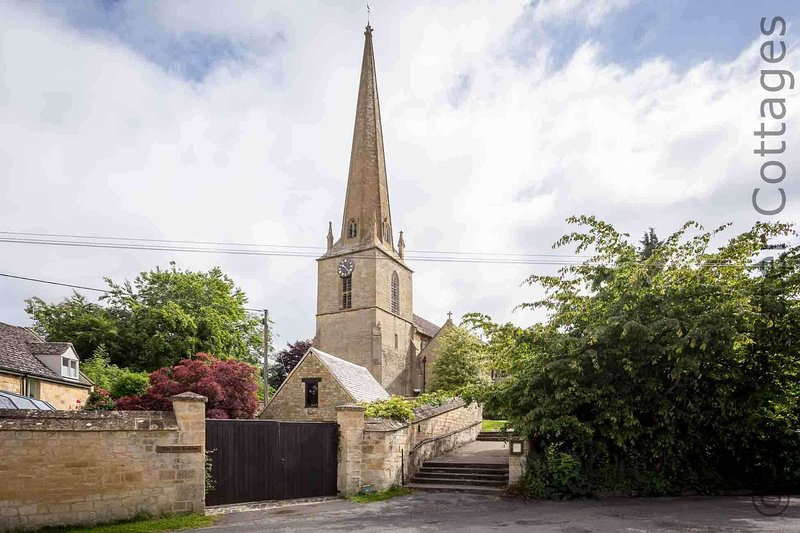 The impressive Church of St Lawrence is Grade I listed and dates back to the 12th century