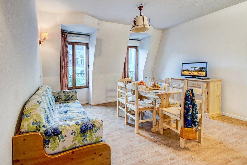 Venez séjourner dans notre charmant appartement à Luchon.