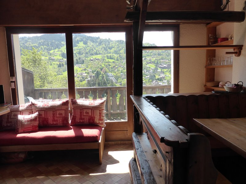 Enjoy the views from the windows!