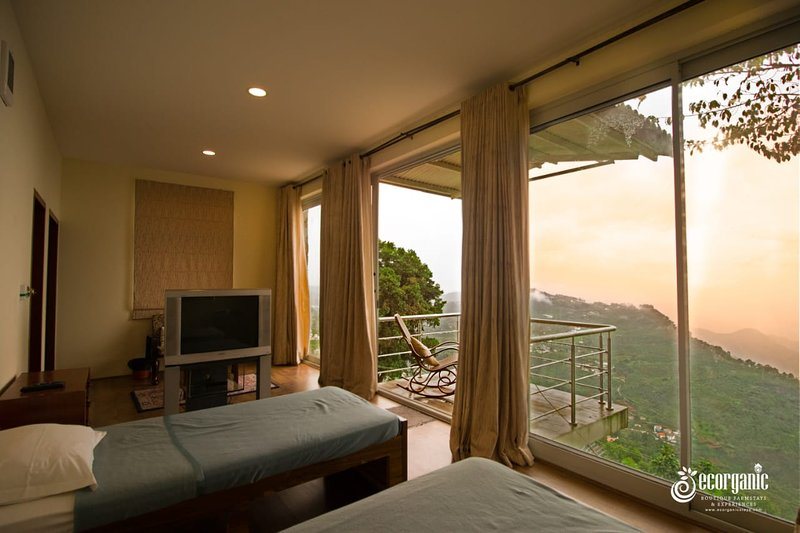 Bedroom with view point