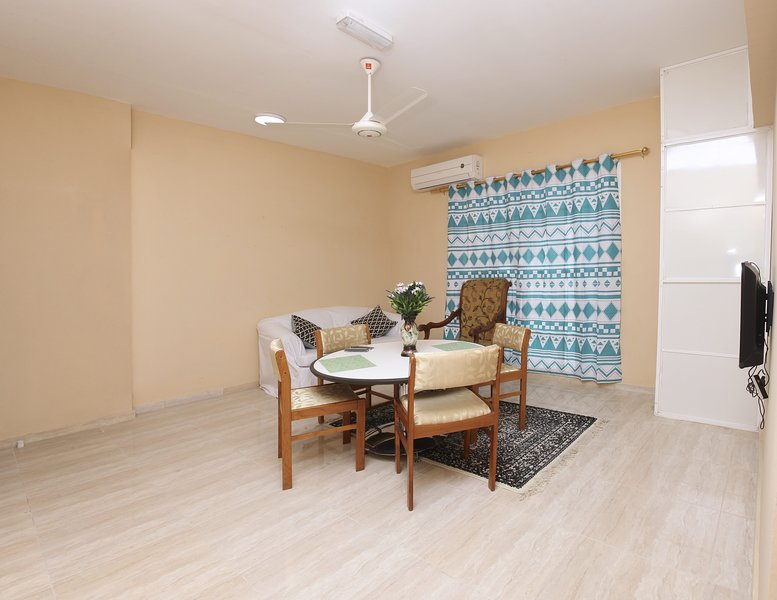 GAP FURNISHED FLATS barka near dragon mall, holiday rental in Barka