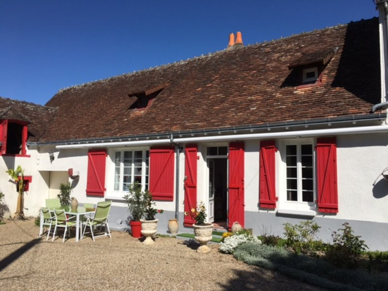 Longère à Ruffec, Indre, vacation rental in Berry