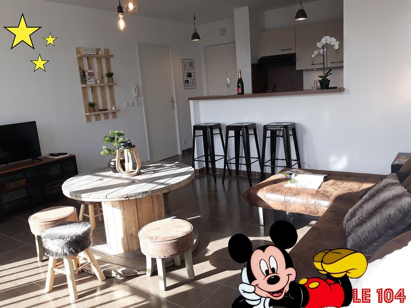 Appartement grand confort 'Le 104' Disneyland Paris Val d'Europe, vacation rental in Conde-Sainte-Libiaire
