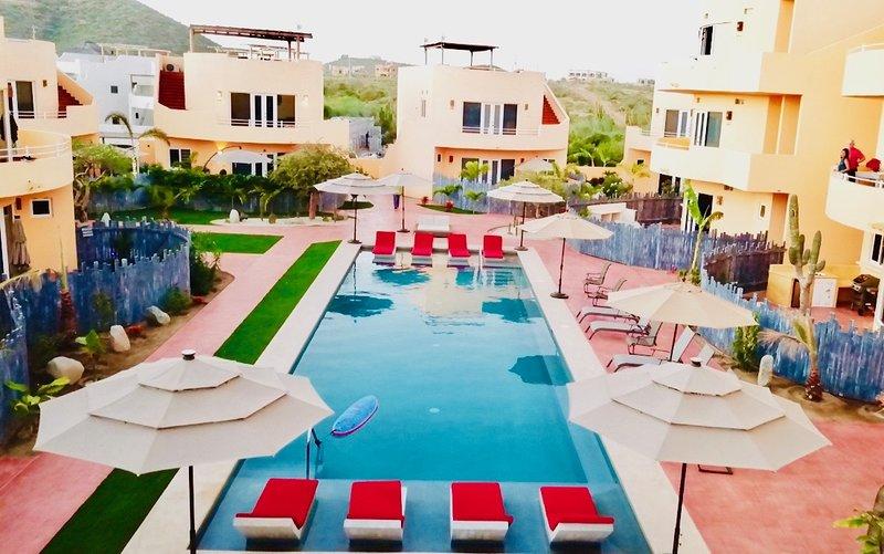 Primera piscina disponible para su uso.