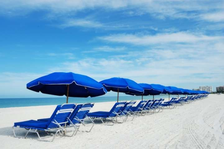 Most of our homes and condos have beach umbrellas and chairs for guest use.