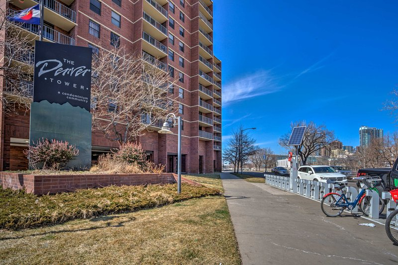 Everything you need for your Mile High retreat is here at The Denver Tower!