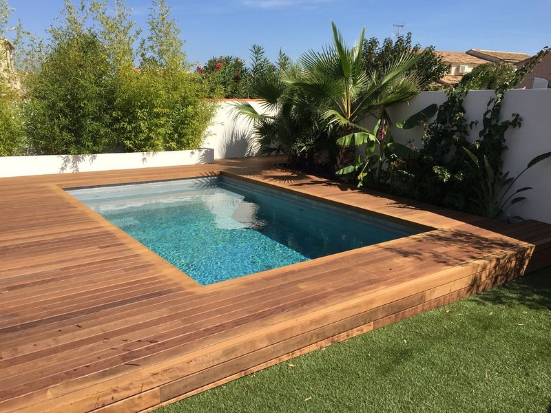 Maison piscine proche plage, holiday rental in Perols
