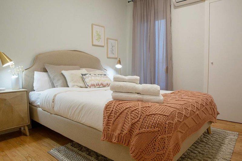 Dormitorio 1 - w / cama doble