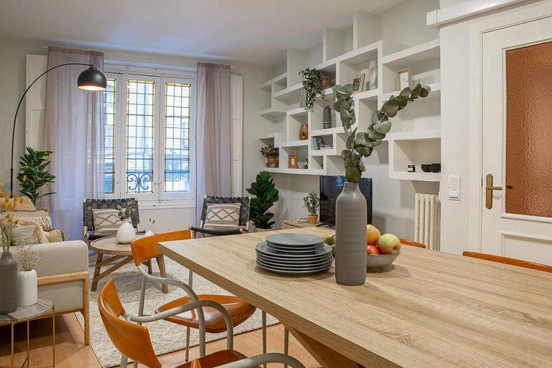 Impresionante piso de 3 habitaciones en Chueca