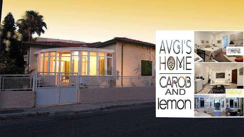 LEMON & CAROB Combination Apartments (Suits) at Avgi's Home, Limassol, Cyprus, holiday rental in Agios Nektarios