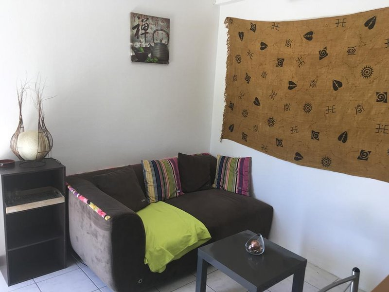 Beautiful apt with sea view & Wifi, vacation rental in Riviere-Salee