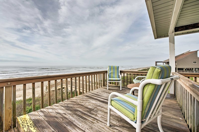 Discover coastal island bliss at this 3-bedroom, 2.5-bath Galveston home!