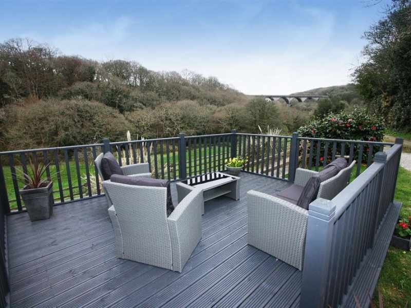 The decking at Clippity Clop