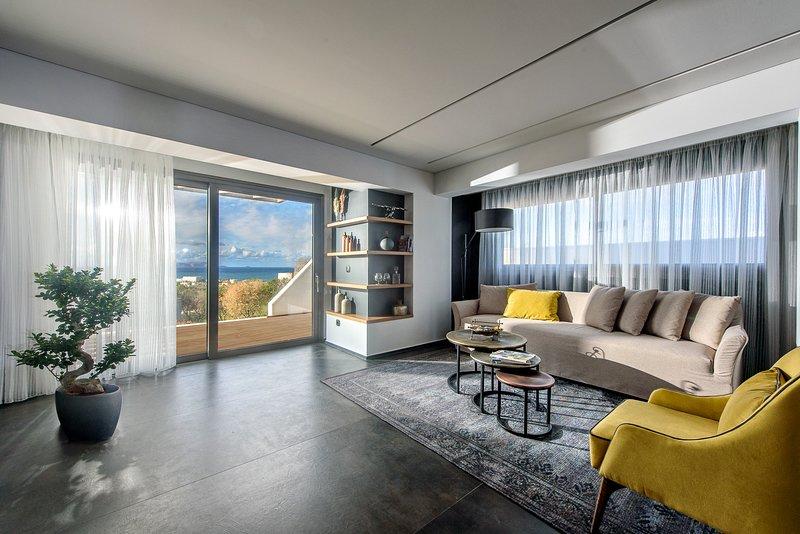 Joy - 2 Bedroom Sea View Villa with Private Pool | Onira Suite Dreams Crete, holiday rental in Anissaras