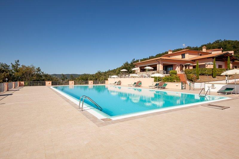 Casa Castelluccio, holiday rental in Monteverdi Marittimo