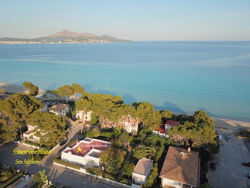 Aguiles 7 ,Beach House 5StarsHome Mallorca, casa vacanza a Playa de Muro