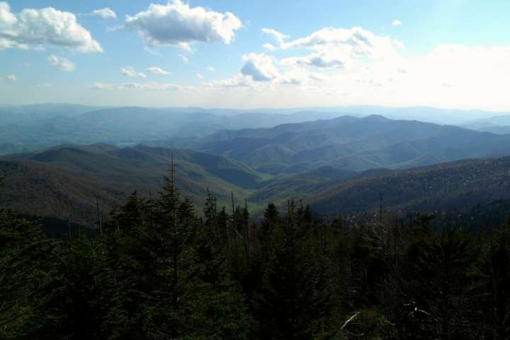 Great Smoky Mountain Views da Clingmans Dome
