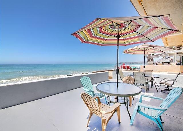 Stunning Oceanfront Dream w/ Patio! Near San Clemente & Dana Point, location de vacances à San Juan Capistrano