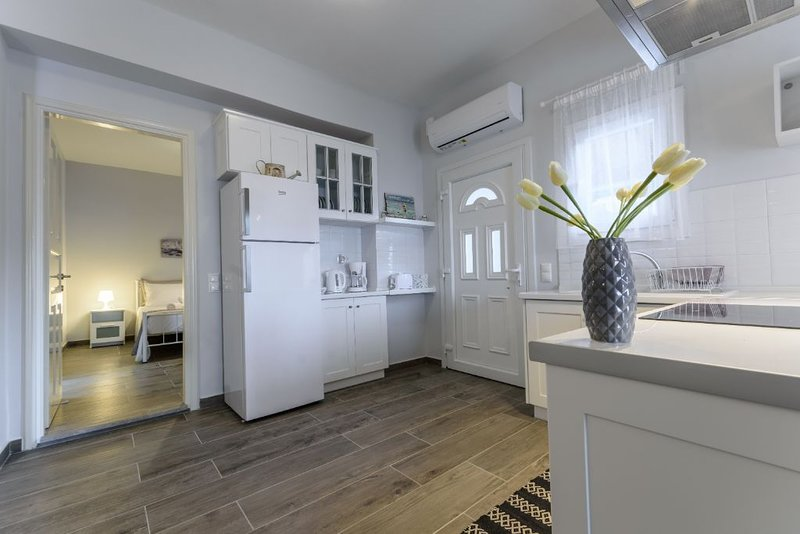 Charming bright apartment near the sea, private terrace!, holiday rental in Apraos