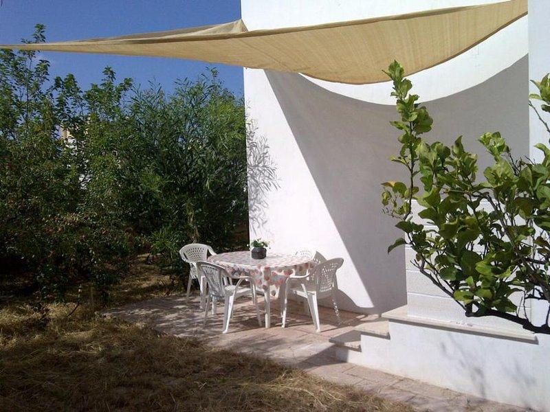 outdoor dining corner