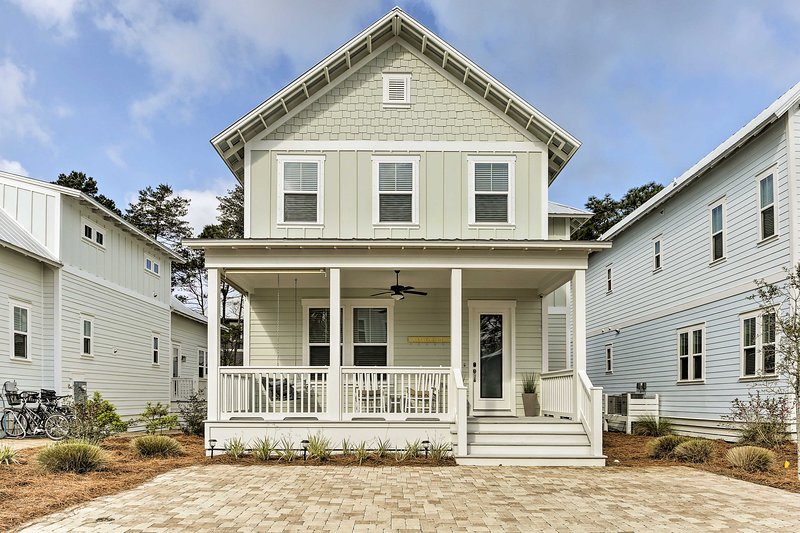 Book a trip to this 4-bedroom, 2-bathroom vacation rental home!