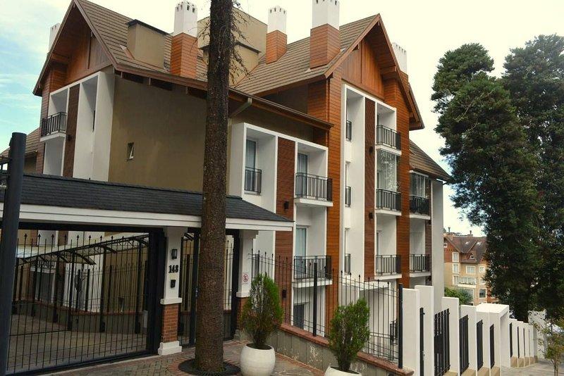 LOCAR-IN GRAMADO Loft One Centro 205, casa vacanza a Gramado