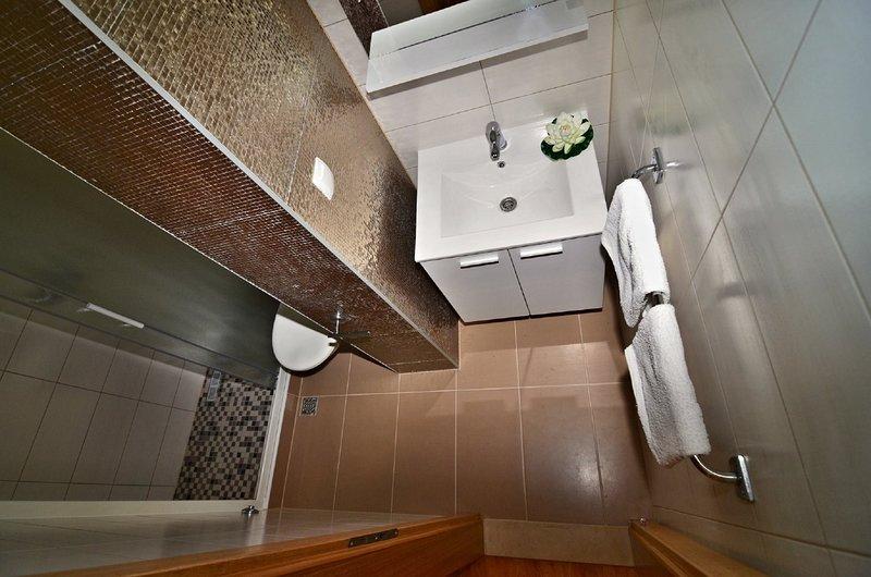 A3 (2 + 2): salle de bain avec toilette
